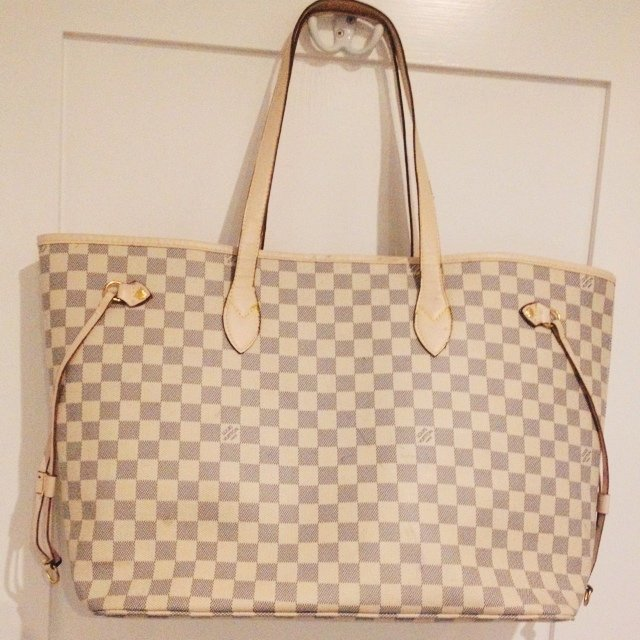 Louis Vuitton Neverfull Damier Azur