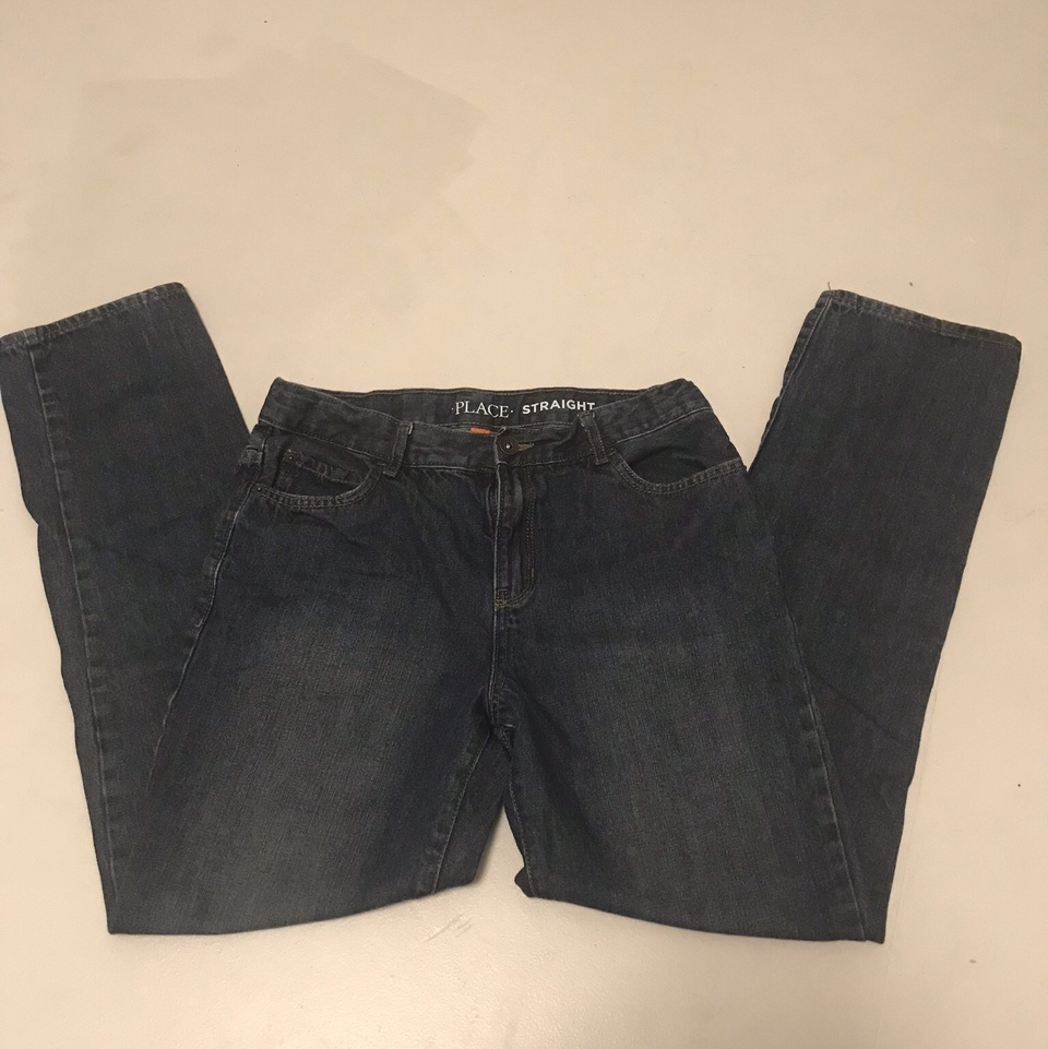 Product Image 1 - Place straight leg jeans. Mid-rise,