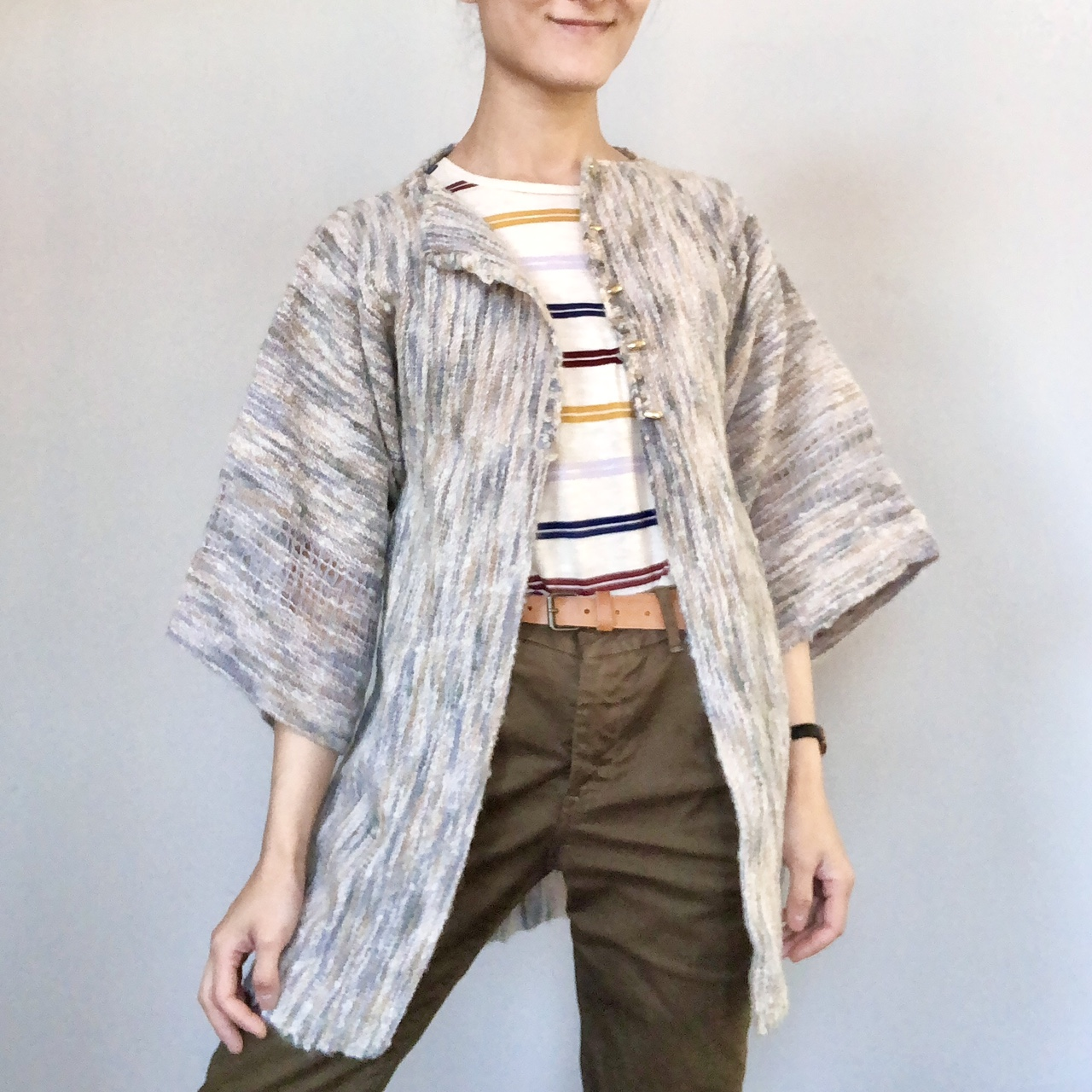 Product Image 1 - Vintage handmade textured cardigan! Can't