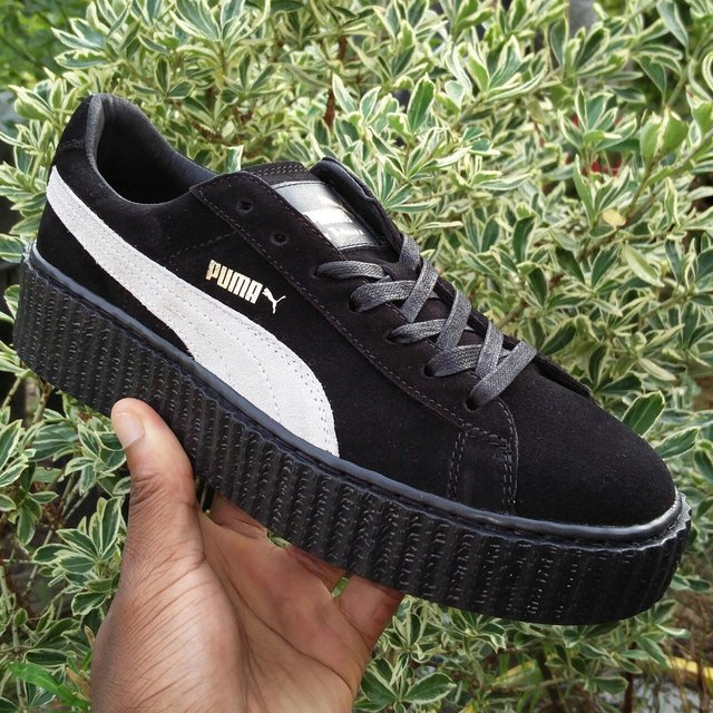 Puma Rihanna Black And White