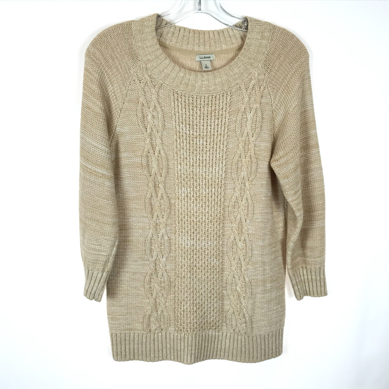 Product Image 1 - Cable Knit Pullover Sweater LL Bean  Crew