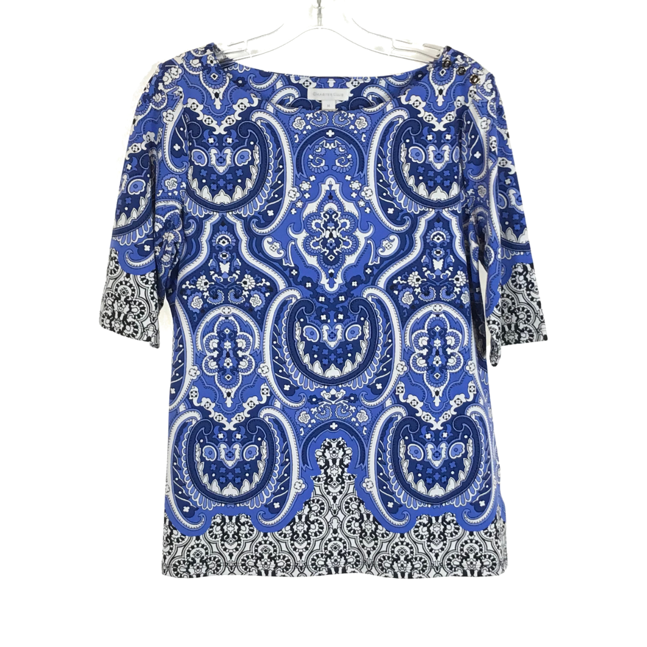 Product Image 1 - Mosaic Print Top Charter Club  Reworked into