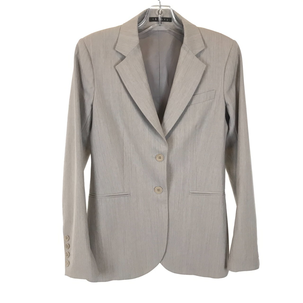 Product Image 1 - Two-Button Blazer Theory  Notched lapel collar Long sleeve Three