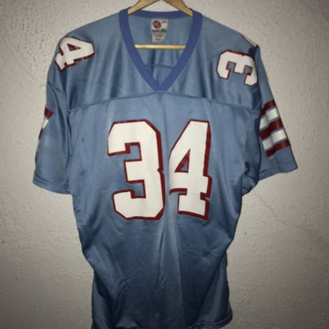 42a904d8 @last_call_vintage. last month. Baltimore, United States. Vintage Houston  Oilers Jersey