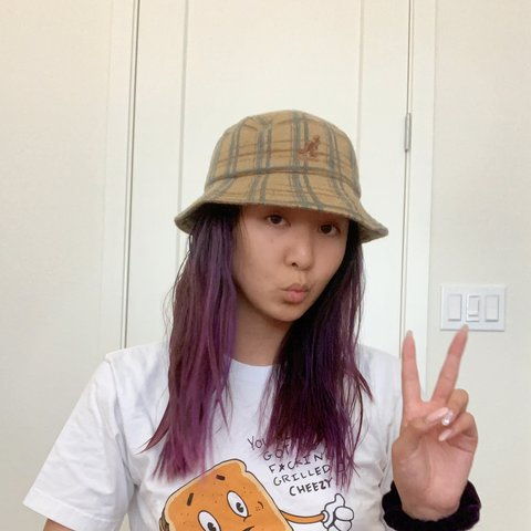 bb03c54681fe13 @emilypi. 16 hours ago. Fremont, United States. PLAID KANGOL BUCKET HAT