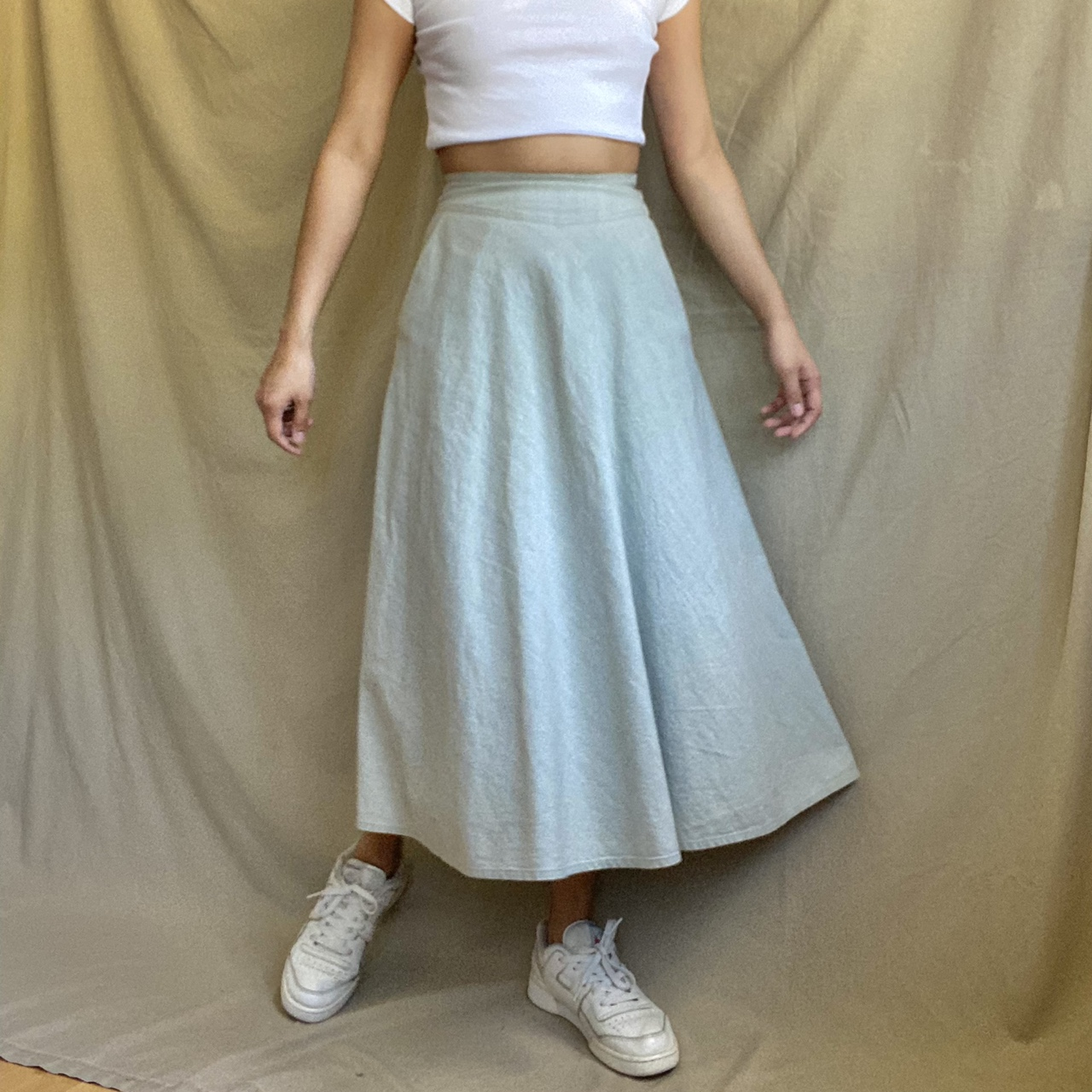 Product Image 1 - The Mint Meadow Circle Skirt