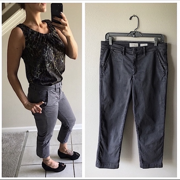 Product Image 1 - Anthropologie Chino Casual Pants Charcoal