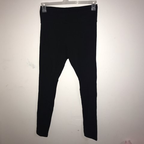ecd51a64c18128 @sophiehead. 23 days ago. Saint Augustine, United States. forever 21 simple  black leggings size large brand new