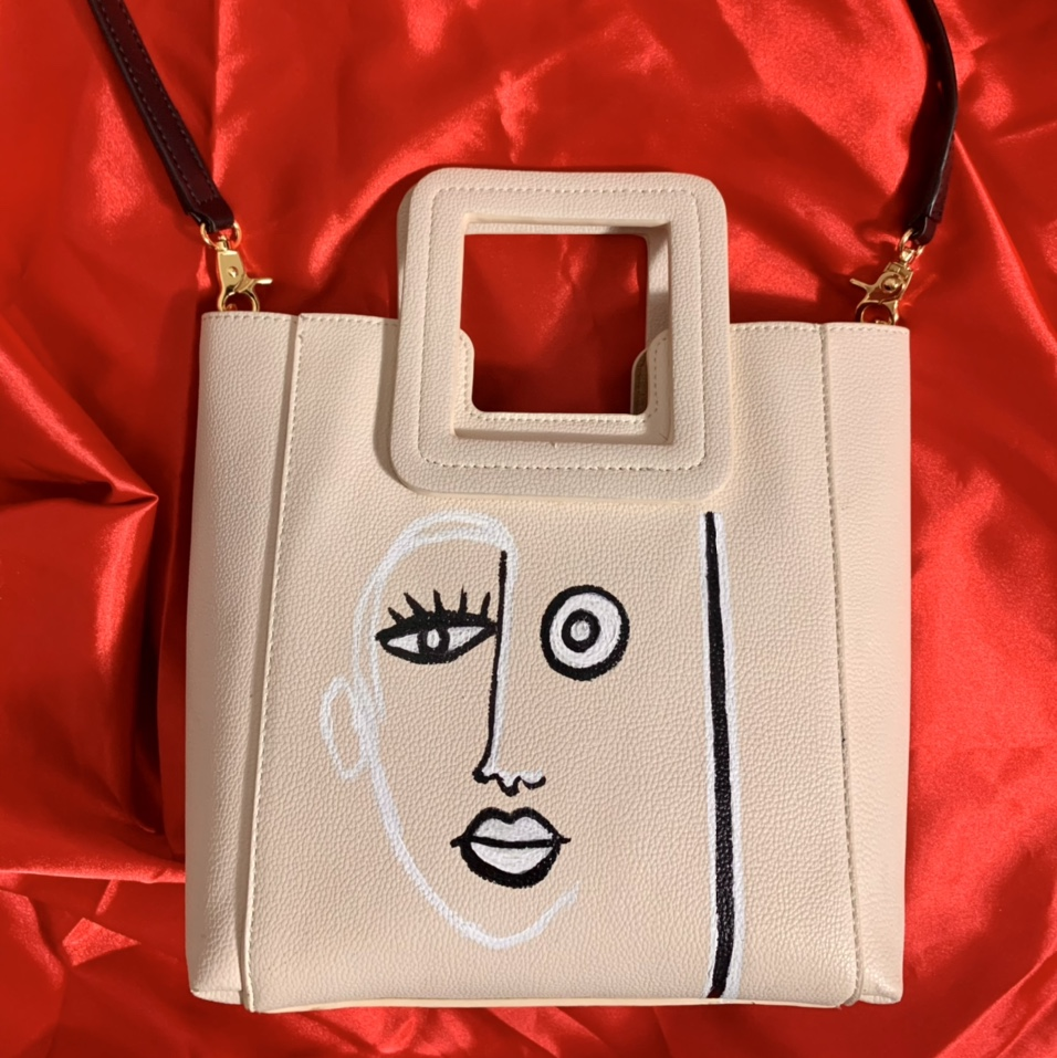 Product Image 1 - Off-White color Leather Unique trendy