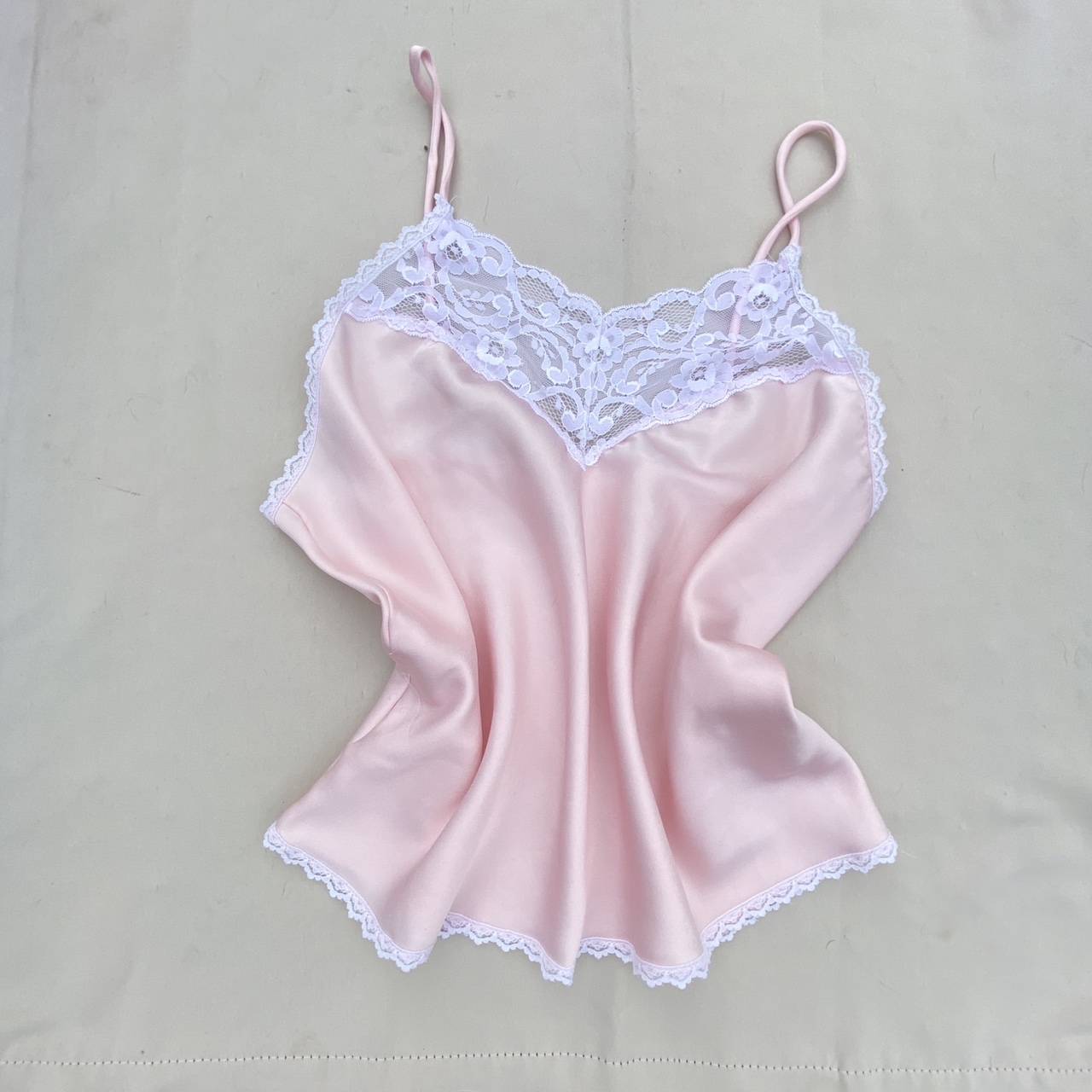 Product Image 1 - Vintage Light Pink Lace Top