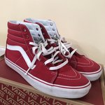Vans Suede Red scarpa • Condition 910 (White laces have on