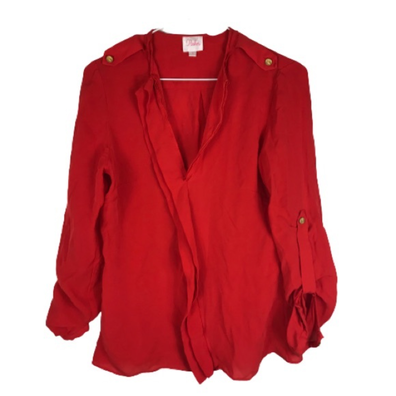 Product Image 1 - Parker Red Silk Blouse, Size
