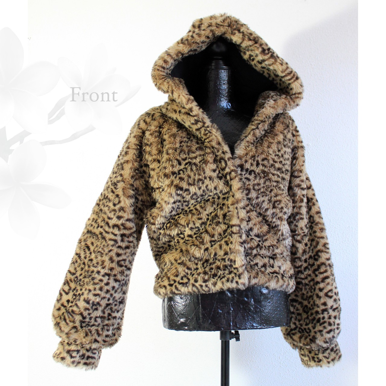 Product Image 1 - Leopard Faux Fur Jacket with