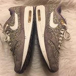 4e86154aa5ec Nike air max 98 leopard print trainers size 6. Only worn for - Depop