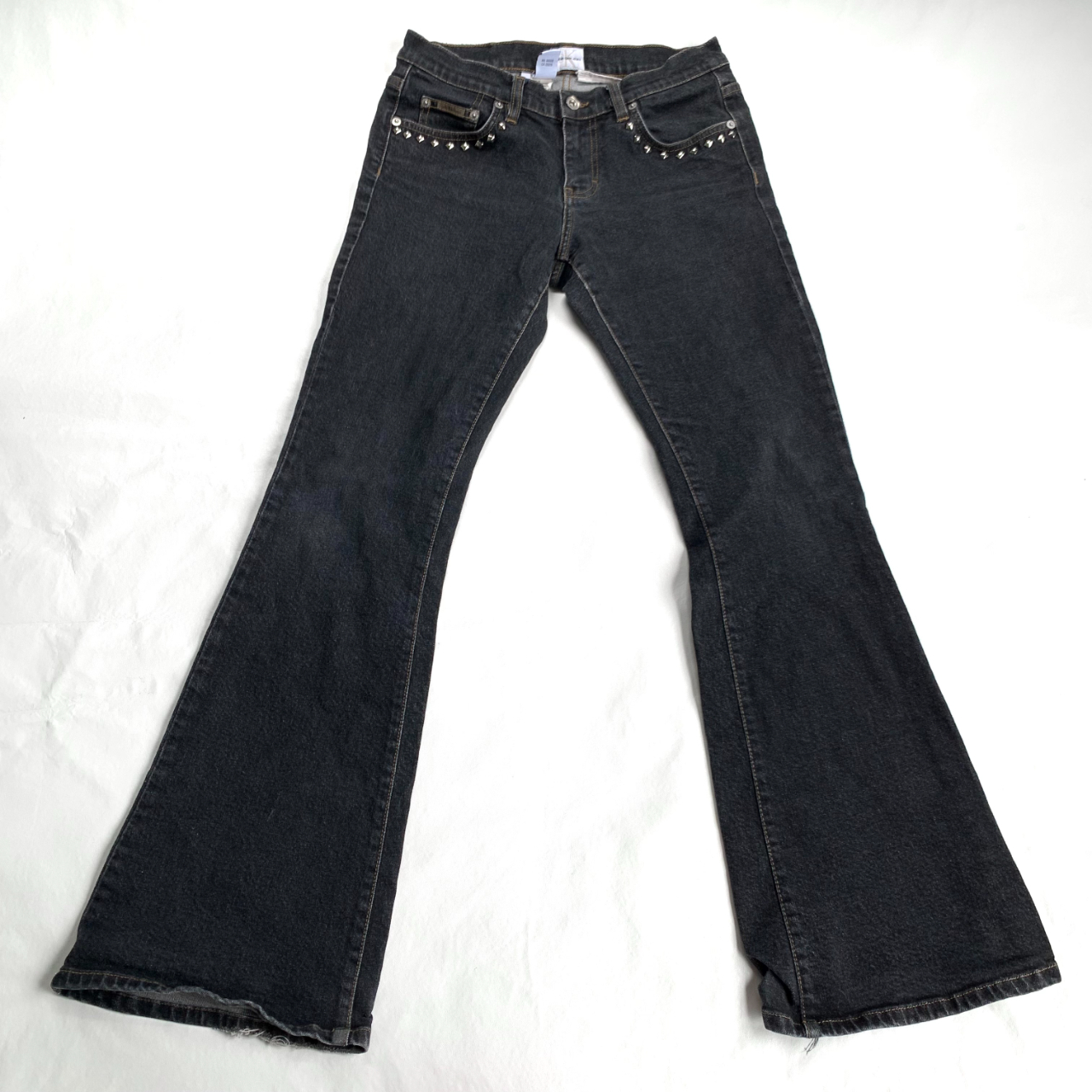 Product Image 1 - y2k flared jeans, Calvin Klein