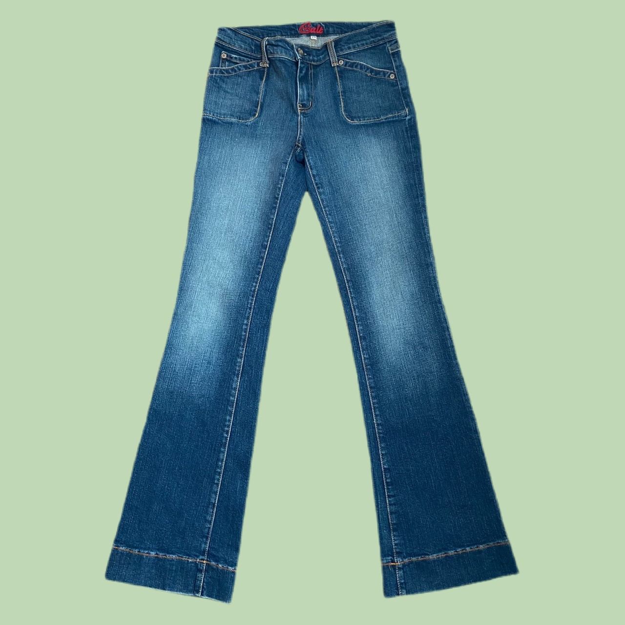 Product Image 1 - y2k low rise flare jeans women's