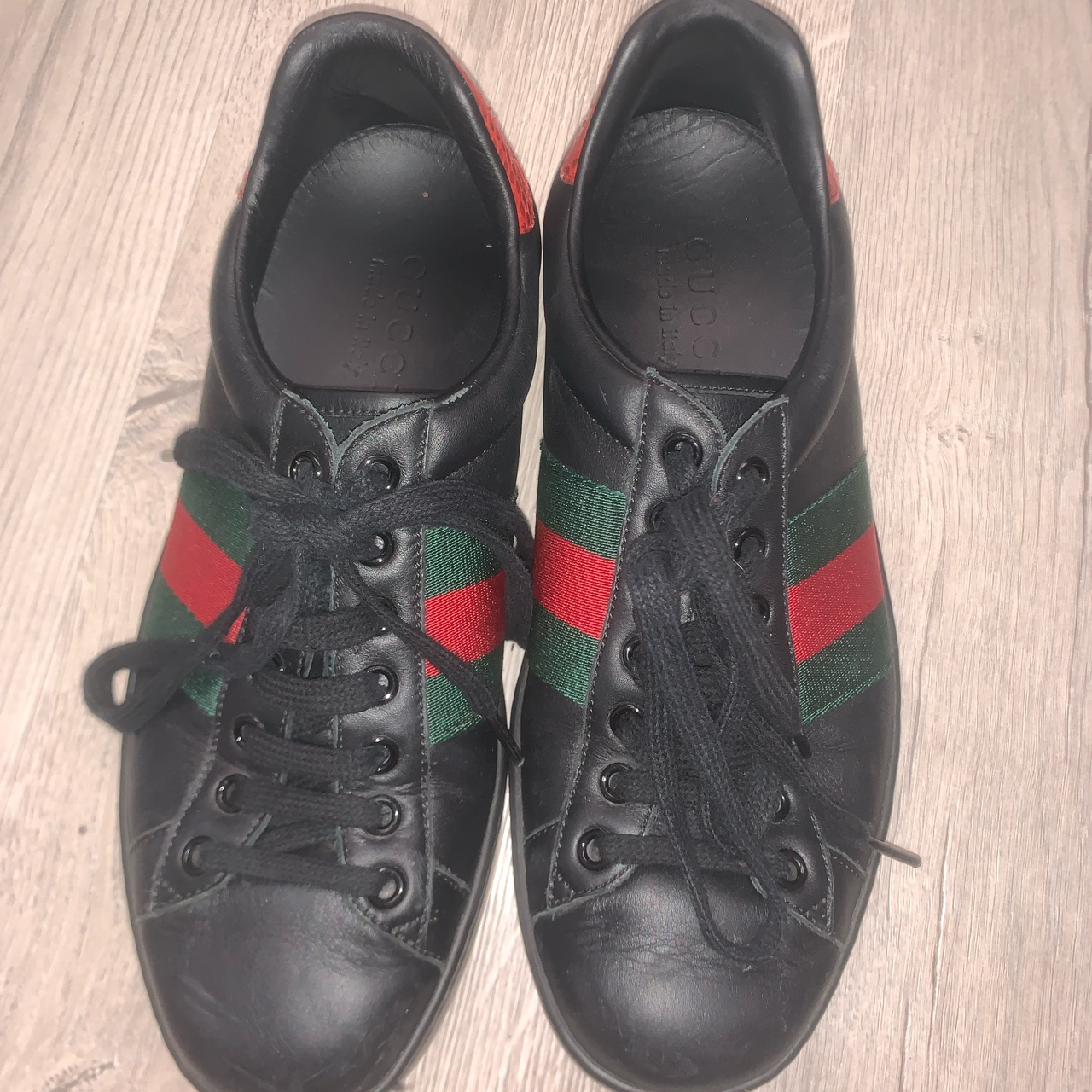 Product Image 1 - Black Gucci shoes 🖤
