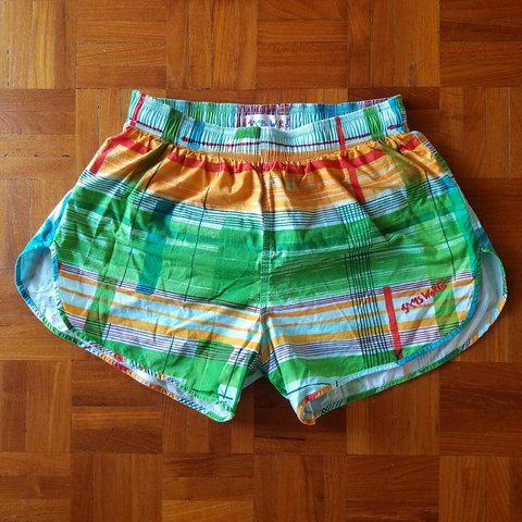 6ec9b65fa9c Vintage Jams World Swim Shorts Hawaii Size Medium Its a a - Depop