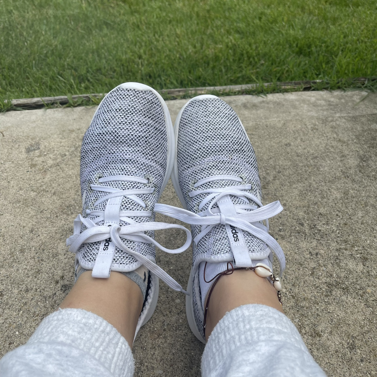 Product Image 1 - Adidas gray CLOUDFOAM PURE SHOES