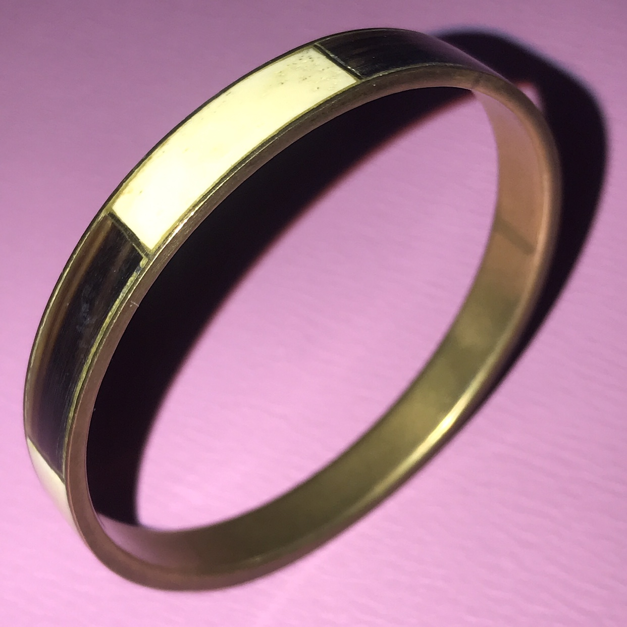Product Image 1 - Vintage tribal brass bangle with