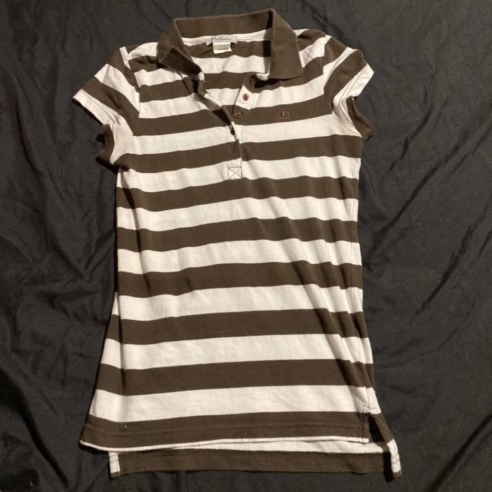 Product Image 1 - Super y2k Brown striped baby