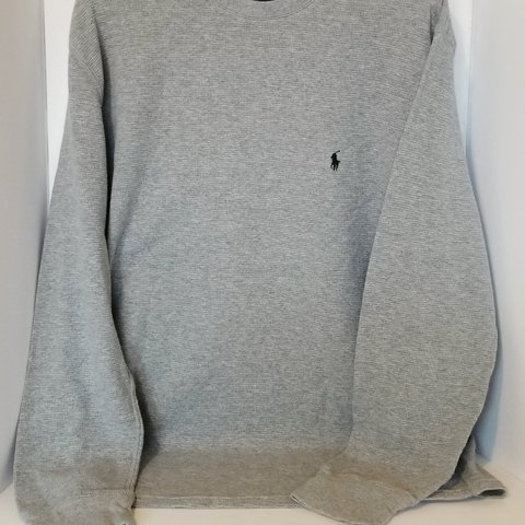 458ae5161 Polo Ralph Lauren Men s Waffle Knit Thermal top in