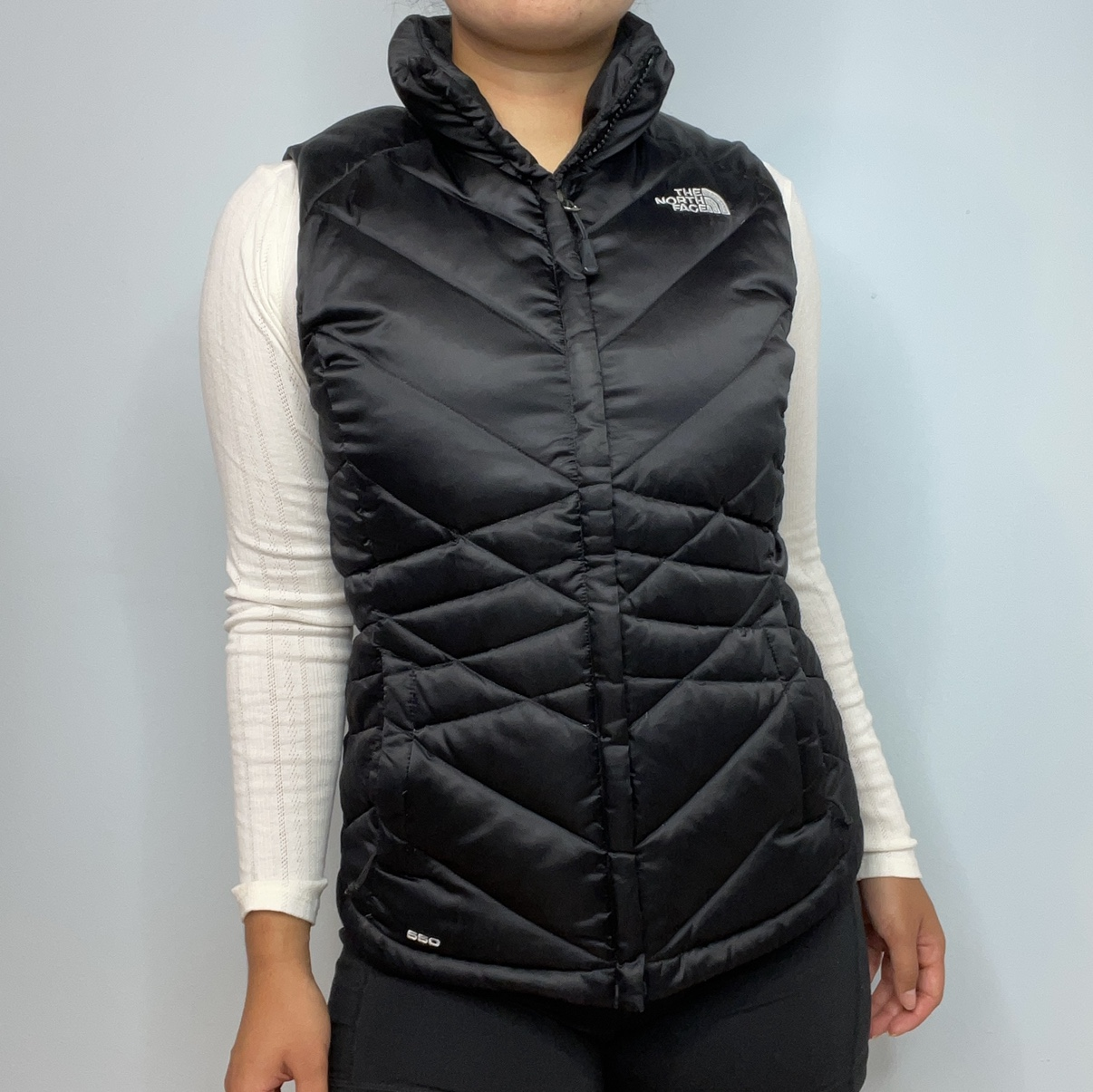 Product Image 1 - NORTH FACE PUFFER JACKET Size small In