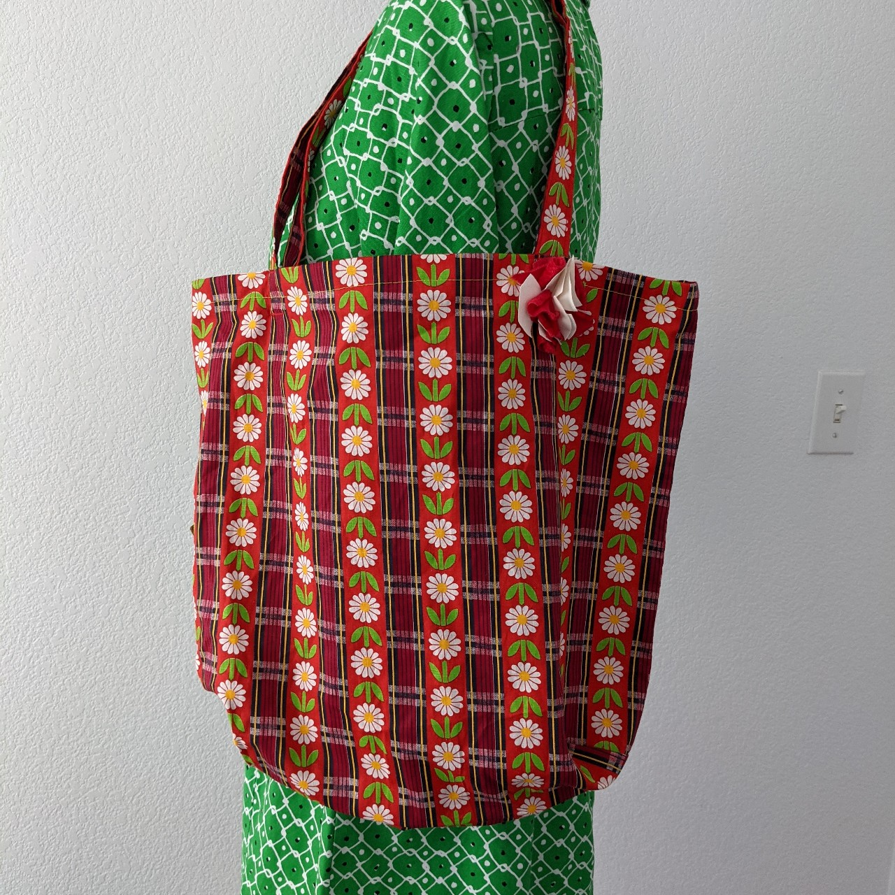 Product Image 1 - 1960s Daisy Chain Tote Bag Perfect