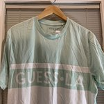 39e2af9f Guess striped sayer tee originals New with tags! never and - Depop