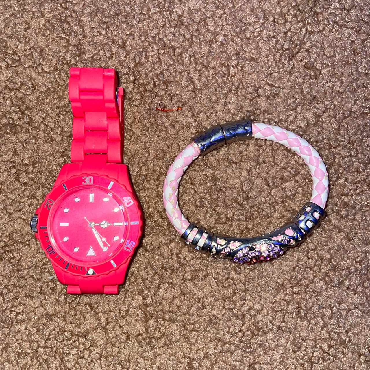 Product Image 1 - Watch and bracelet bundle  Disclaimer watch