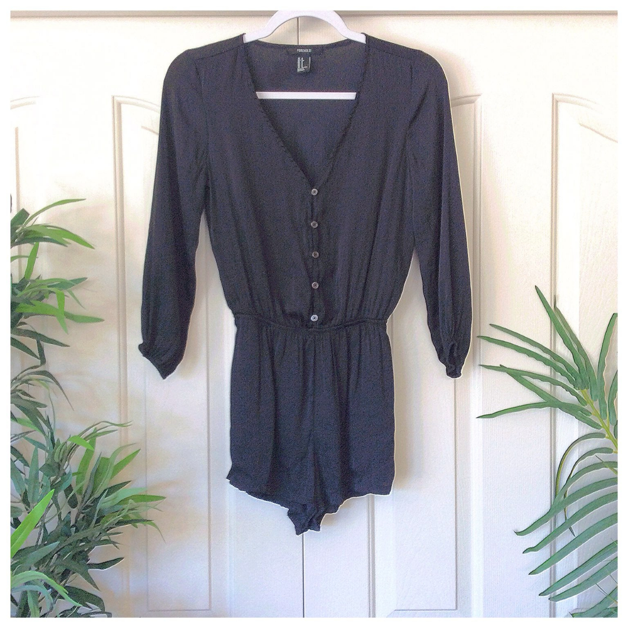 Product Image 1 - Forever 21 Small Black Romper.