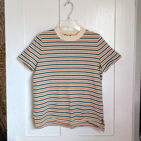 92ffdbd3c4d8f9 @charynotchary. last month. Oberlin, Lorain County, United States. Shipping  $8. Orange, blue and white stripe shirt. Thick ...