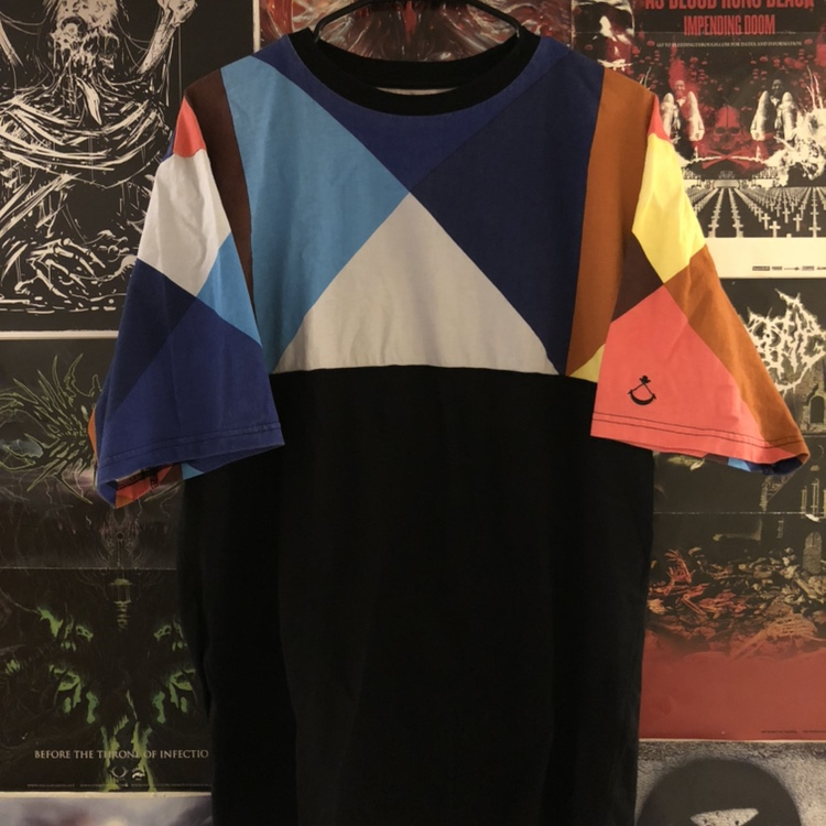 Product Image 1 - Black Scale Multicolor Tee  Almost new