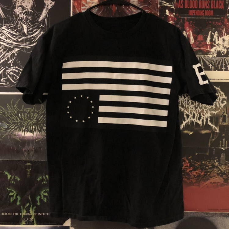 Product Image 1 - Black Scale Flag Tee  Good condition,