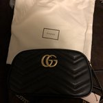 95e94032d22054 Brand new with tags Gucci Sylvie Flame Bag. SUPER RARE AND a - Depop