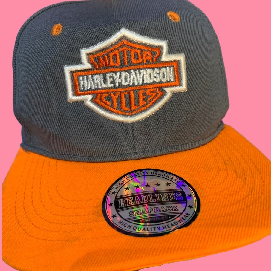 Product Image 1 - Harley Davidson SnapBack🔥  Features the famous