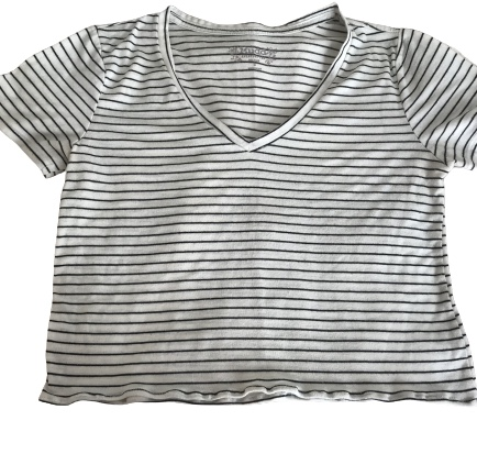 Product Image 1 - White shirt with black stripes