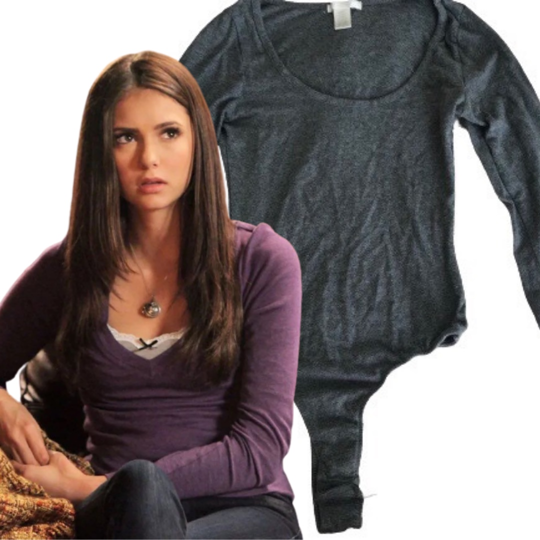 Product Image 1 - Gray long sleeve body suit