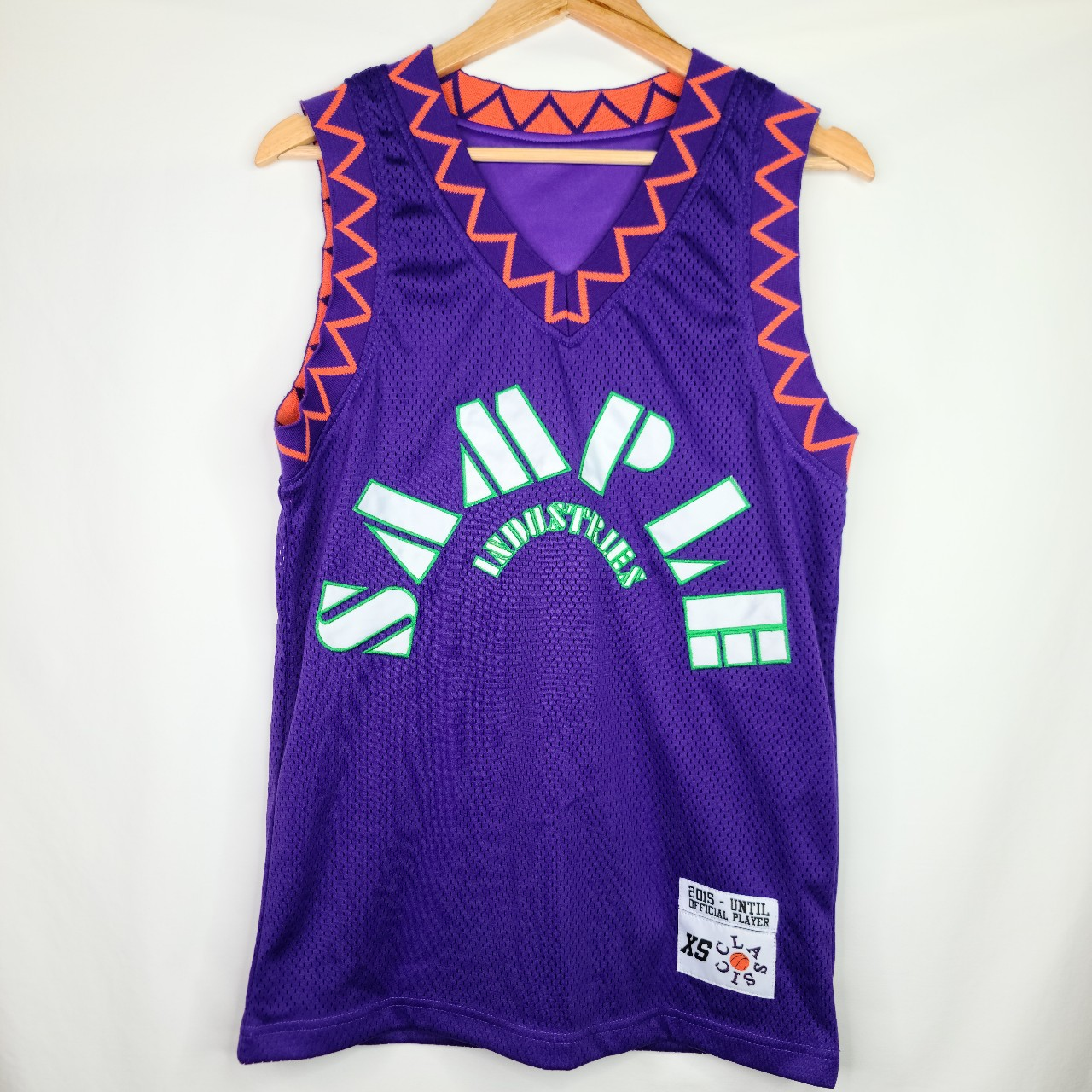 Product Image 1 - Sample Industries Mesh Jersey Purple