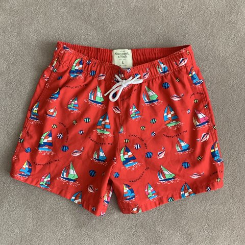 bc3f8ef1bacf7 @hennessya1990. 28 days ago. Wirral, United Kingdom. Abercrombie and Fitch  swim shorts. Brand new. Size: small