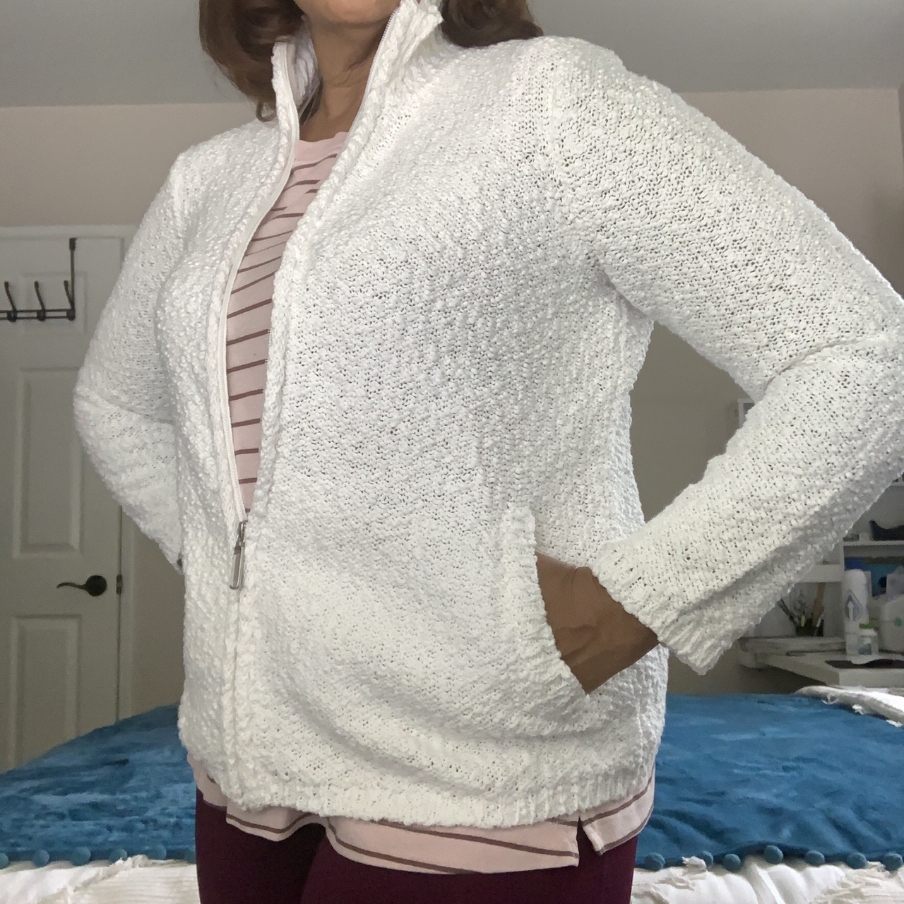 Product Image 1 - Coldwater Creek White Popcorn Knit