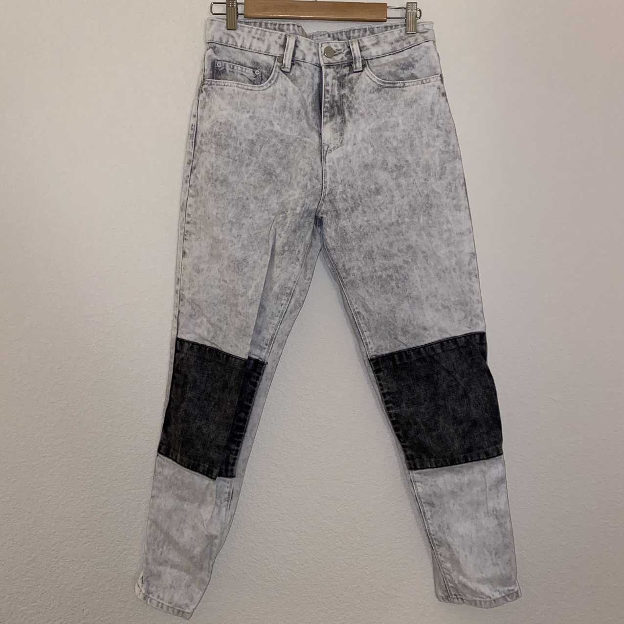Product Image 1 - Contrast Jeans high waisted