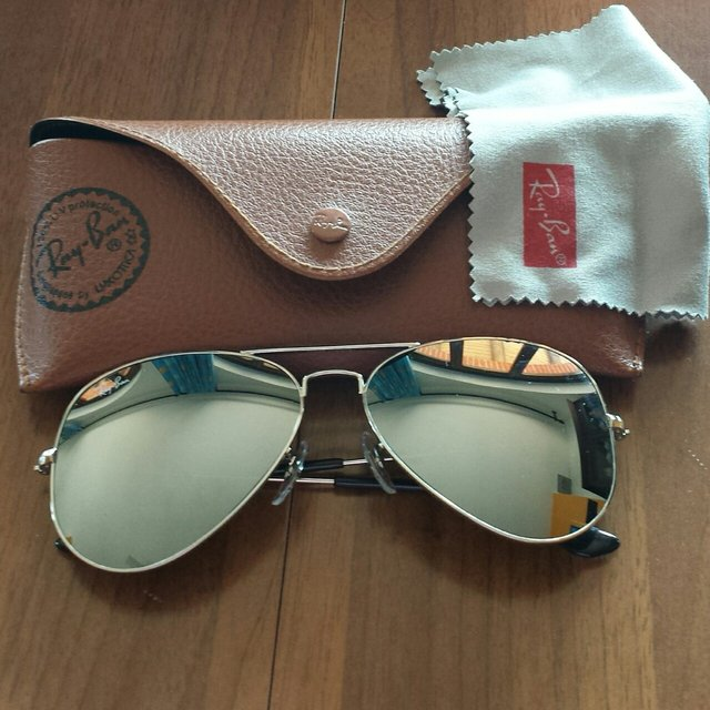 custodia ray ban aviator uomo