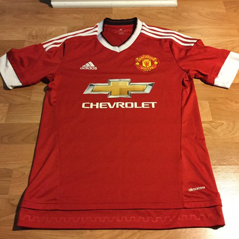 bc9a3109b @thriftsource. 26 days ago. United States. Adidas Chevrolet Manchester  United soccer jersey