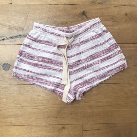 7d70d228ff Cute striped shorts. Perfect as beachwear or everyday wear. - Depop