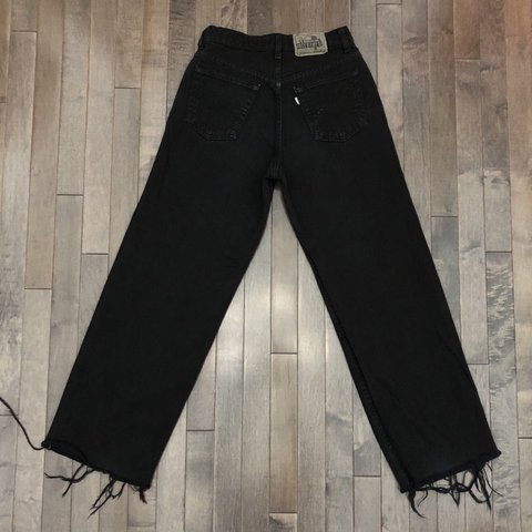 b7999d8d @vintagejeanqueen. in 17 hours. Loveland, United States. Vintage Levi's  Silvertab black jeans! Features a high ...