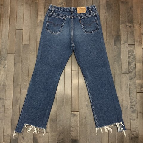 06260467 @vintagejeanqueen. 10 days ago. Loveland, United States. Vintage Levi's 517  boyfriend jeans! This pair features a high ...