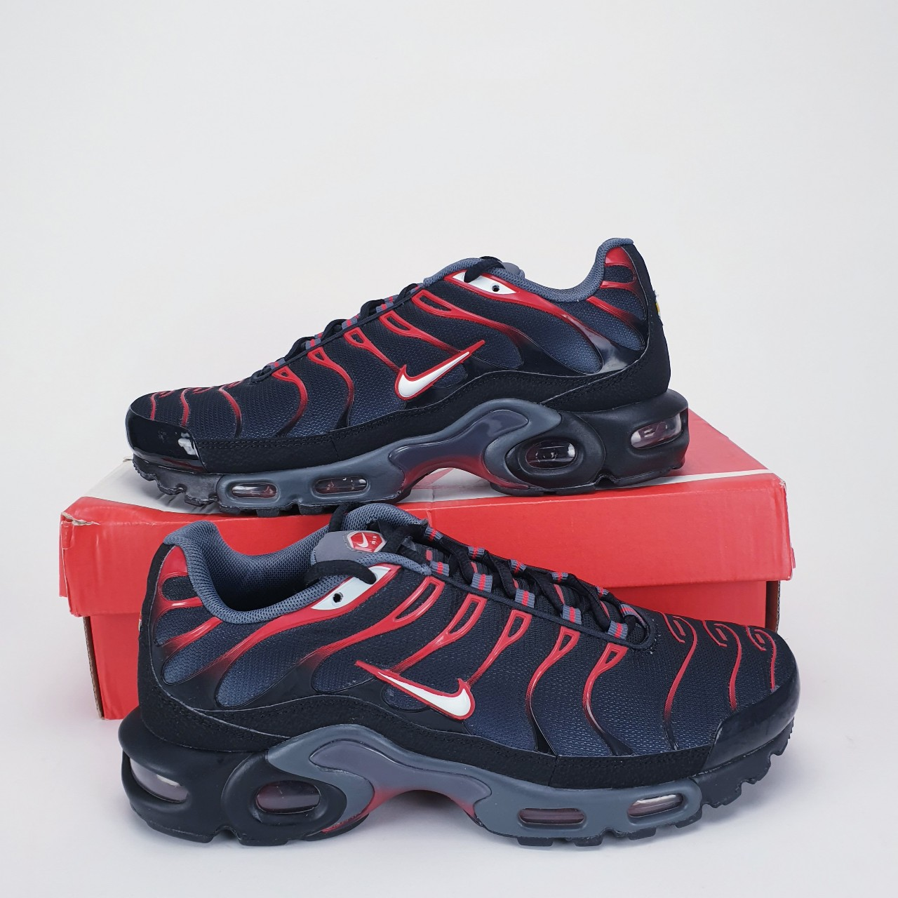 Nike Air Max Plus Tuned TN Men's Trainers Shoes... - Depop