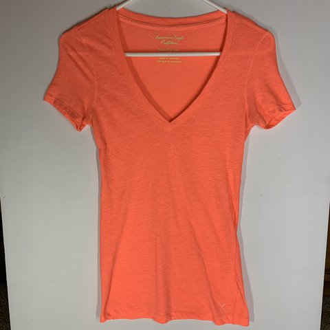 14a10a01de @jmoreheadd. 2 days ago. Vacaville, United States. Orange American Eagle  Outfitters t-shirt. Size medium.