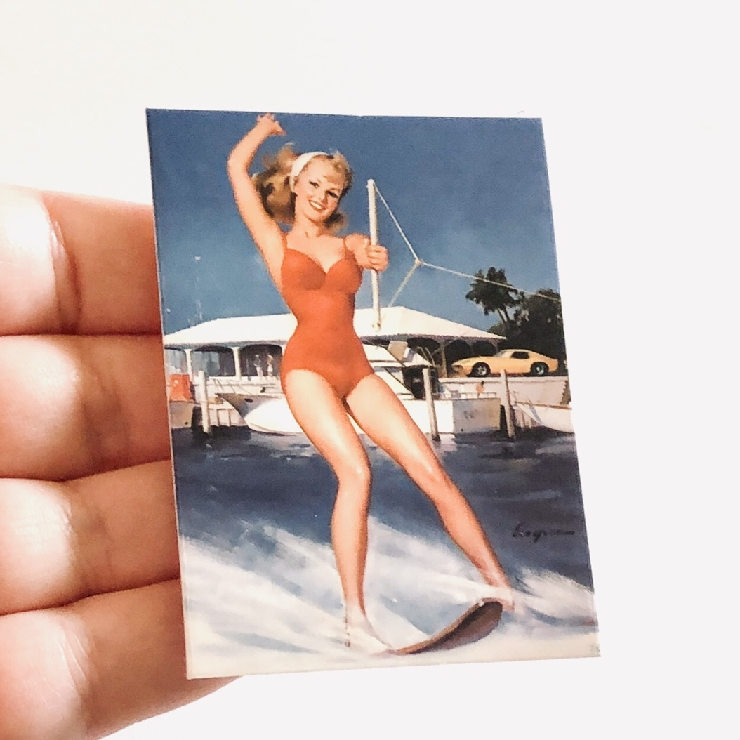 Product Image 1 - Retro pin up girl sticker,